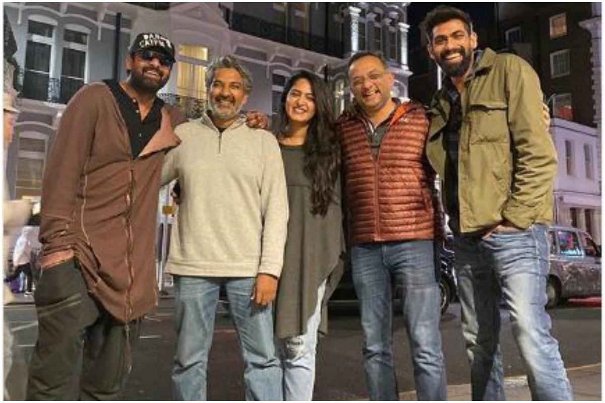 Prabhas reunites with Baahubali team as film screened in London