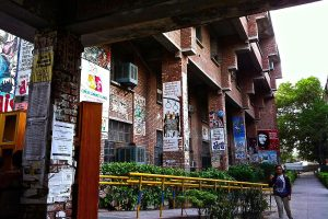 JNU Teachers' Association observes black day to protest against academic council meeting decisions