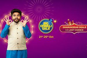 Flipkart Big Diwali Sale 2019 begins October 21, deals on electronics, smartphones revealed