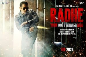 After Dabangg 3, Salman Khan to bring Radhe: Your Most Wanted Bhai; first look poster out