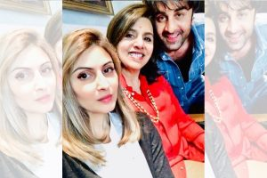 Ranbir Kapoor celebrated Bhai Dooj with sister Riddhima