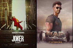 War, Joker continue to shine at box office