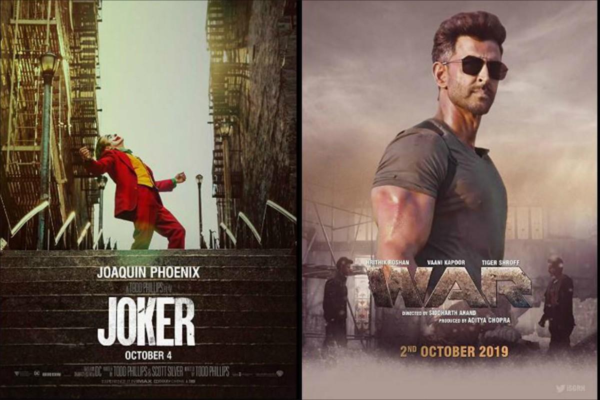 War, Joker continue to shine at box office