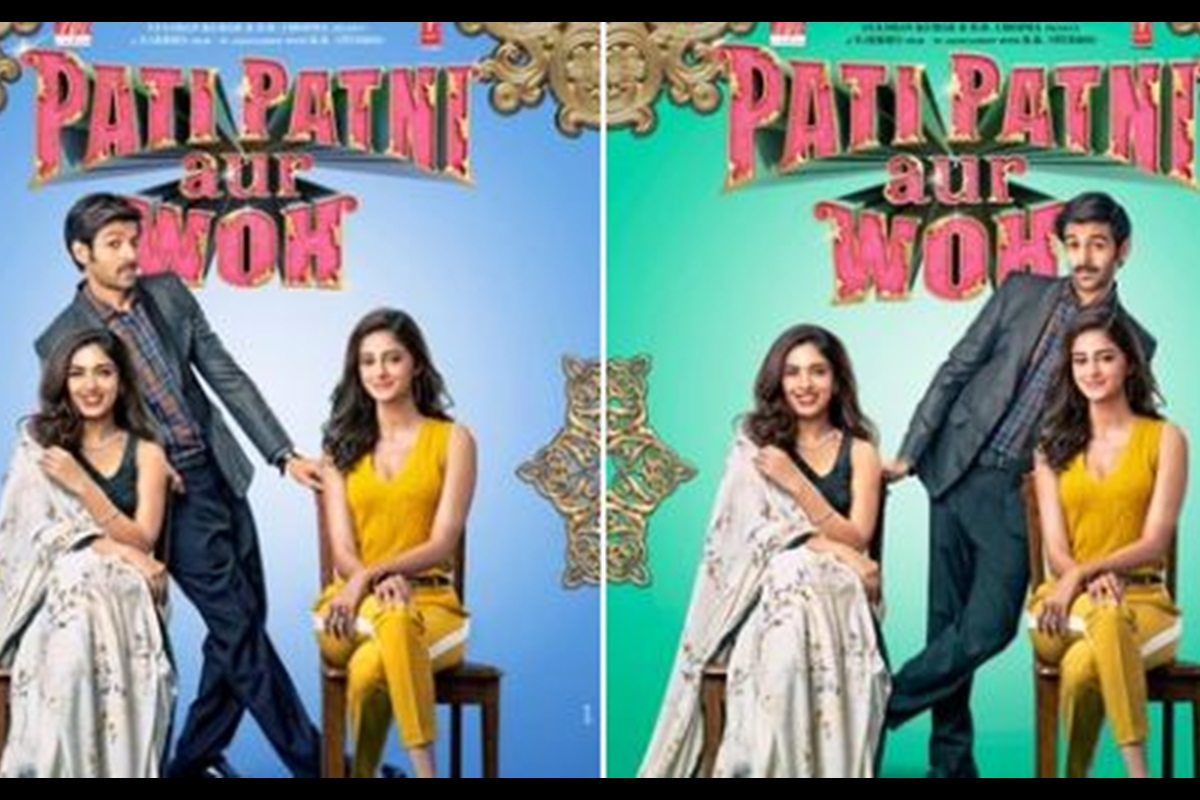 First look posters of 'Pati Patni Aur Woh' is out