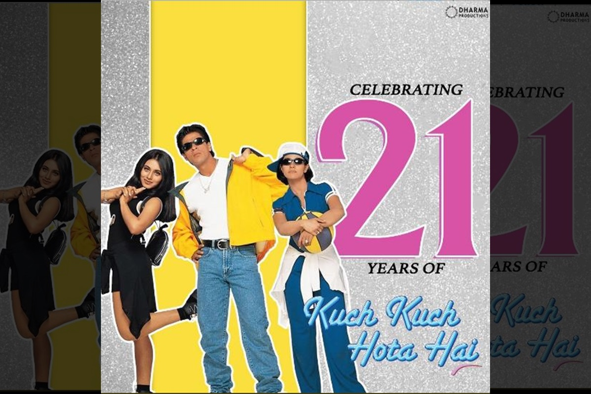 Kuch Kuch Hota Hai, Shah Rukh Khan, Kajol, Rani Mukherjee, Karan Johar