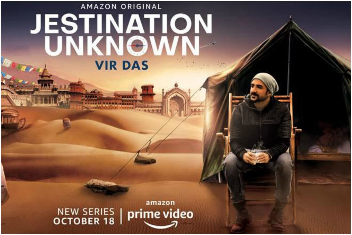 Vir Das, Amazon, Jestination Unknown, Netflix, Conan O Brien, travel comedy show, Patiala, Mysore, Kumarakom, Lucknow, Leh, Jodhpur, Hasmukh, Nikhil Advani,