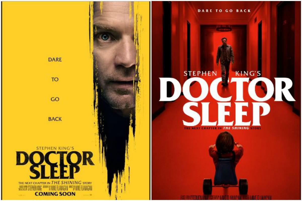 Doctor Sleep, The Shining, Stanley Kubrick, Stephen King, Redrum, poster, Ewan McGregor, Danny Torrance, Overlook Hotel, Mike Flanagan, Jack Nicholson