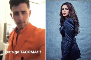 Parineeti Chopra shares video of Nick Jonas dancing to 'Khadke Glassy'