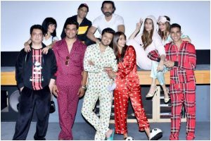 Housefull 4 cast hosts special screening with 'Pyjama party' theme