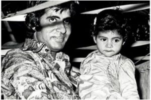 Shweta shares nostalgic photo on eve of father Amitabh Bachchan's birthday