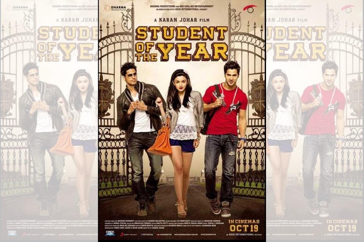 Karan Johar, Varun Dhawan, Student of the Year, Alia Bhatt, Sidharth Malhotra, Shah Rukh Khan, Dharma Productions,