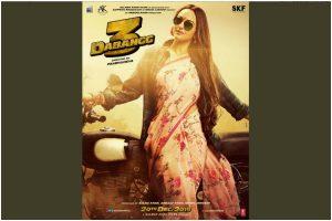 Dabangg 3: Salman Khan shares Sonakshi Sinha character poster