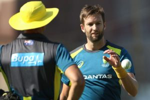 Andrew Tye ruled out of Sri Lanka T20Is, Aaron Finch confirmed to play