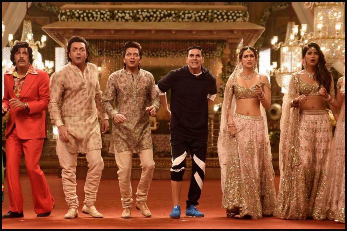 Housefull 4, box office, Kriti Sanon, Riteish Deshmukh, Kriti Kharbanda, Pooja Hegde, Kriti Sanon, Taapsee Pannu, Bhumi Pednekar, Saand Ki Aankh, Govardhan Pooja, Bhai Dooj