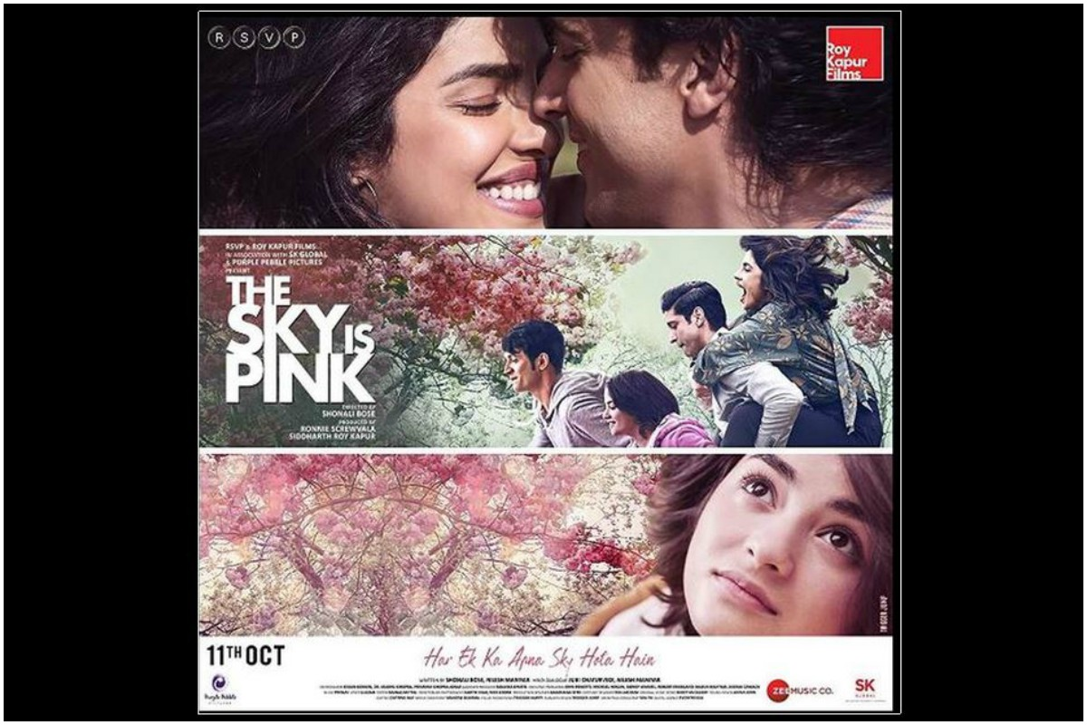 Nick Jonas, The Sky Is Pink, Priyanka Chopra, Farhan Akhtar, Shonali Bose, Aisha Chaudhury, Aditi, Niren,