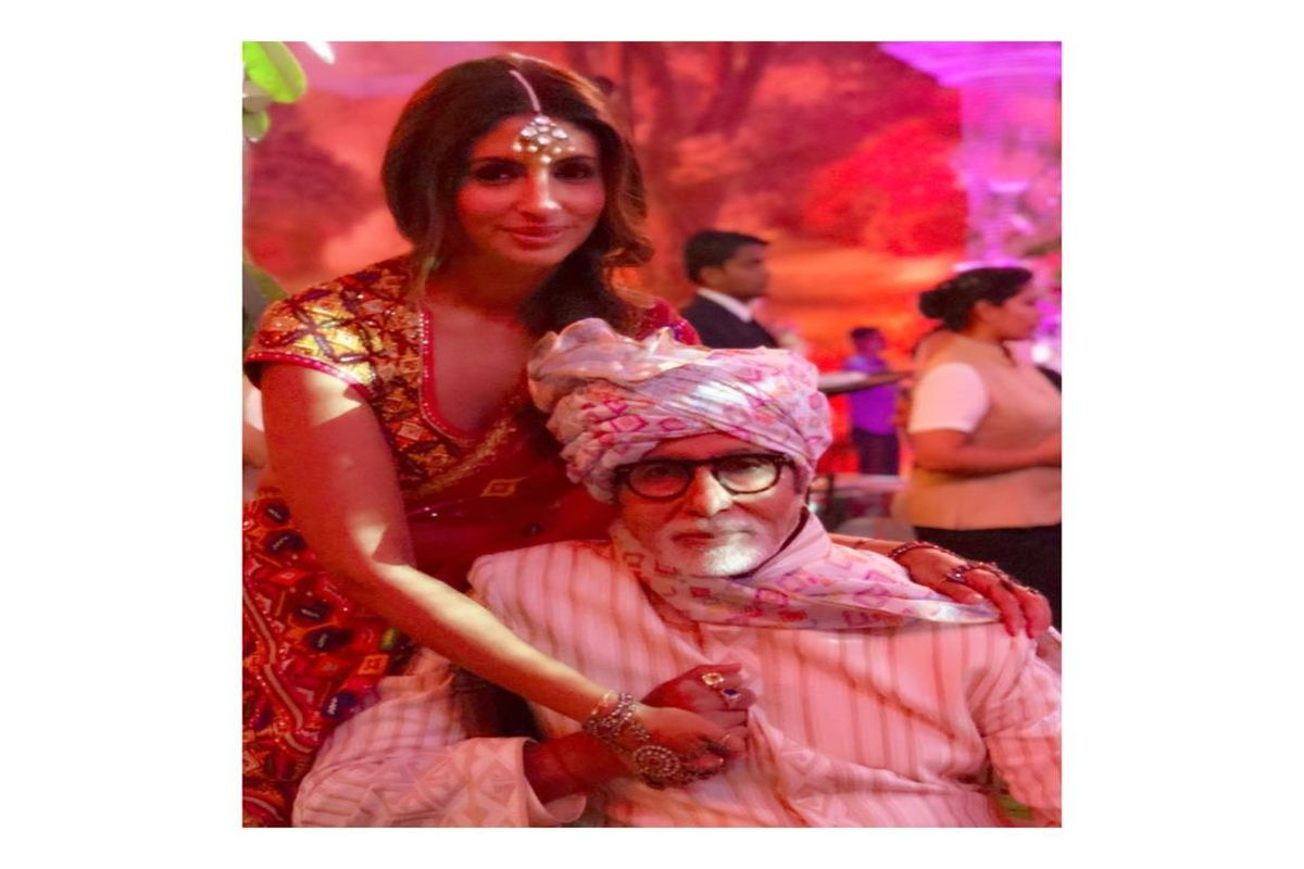 Happy Birthday Amitabh Bachchan: Daughter Shweta penned a sweet note