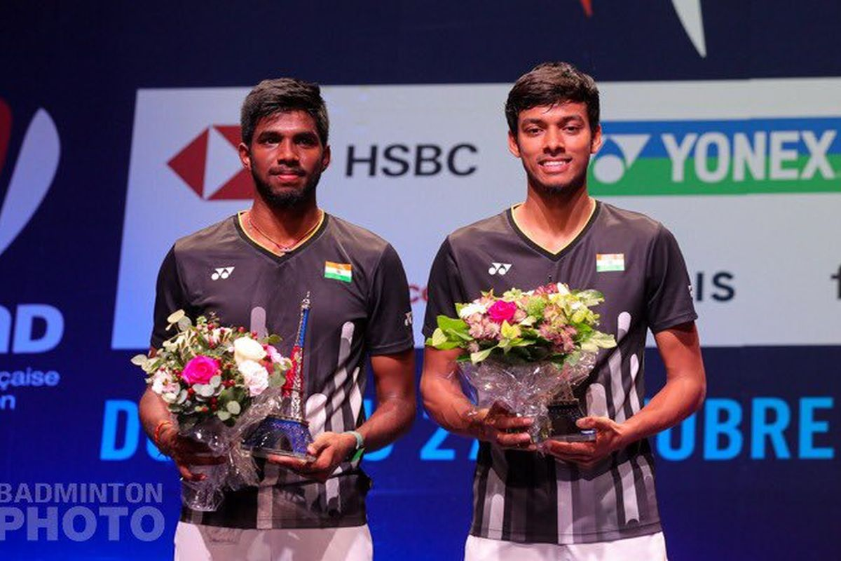 Satwik-Chirag end second-best in French Open