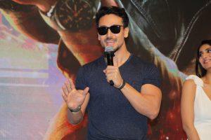 Tiger Shroff requests fans to check decibel this Diwali