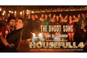 Housefull 4: 'The Bhoot Song' featuring Nawazuddin Siddiqui to be out tomorrow!