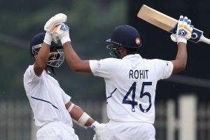Ranchi Test: 'Ajinkya Rahane took the momentum away from South Africa', says Rohit Sharma