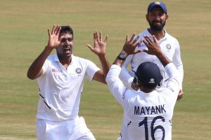 Ravichandran Ashwin becomes joint-fastest to 350 Test wickets