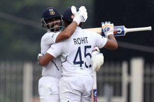 India vs South Africa, Ranchi Test, Day 2: Ajinkya Rahane hits ton; Rohit Sharma on 199 by lunch