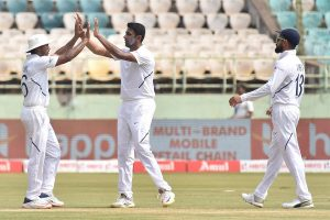 Ravichandran Ashwin 1 wicket away from equalling Muralitharan's Test record