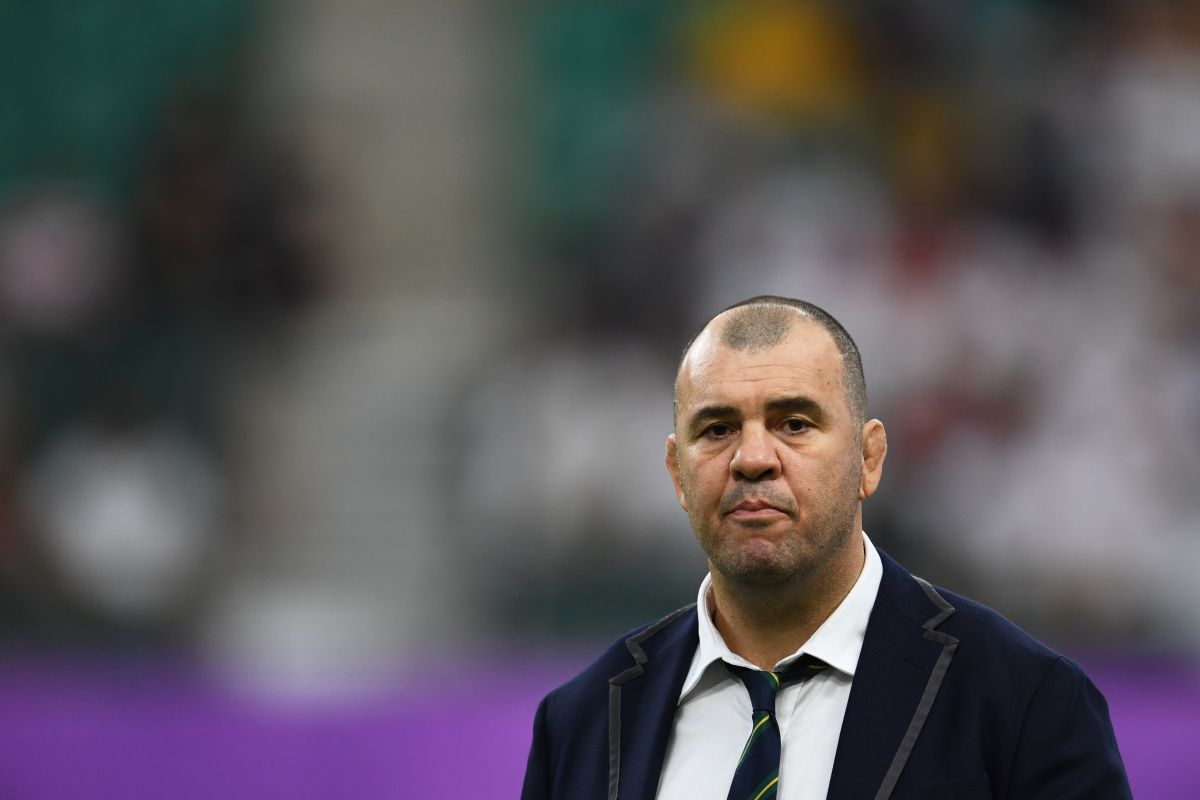 Australia rugby coach, Rugby World Cup, England, Michael Cheika,