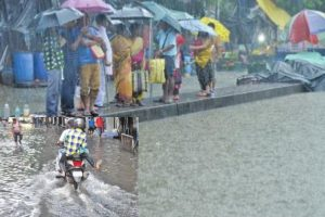 Rain dampens festive spirit on Ekadashi; idol immersion hampered