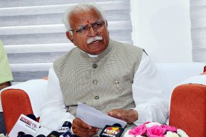 Manohar Lal Khattar may stake claim today for govt formation in Haryana
