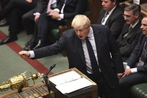 UK PM Boris Johnson addresses Parliament for new Brexit deal