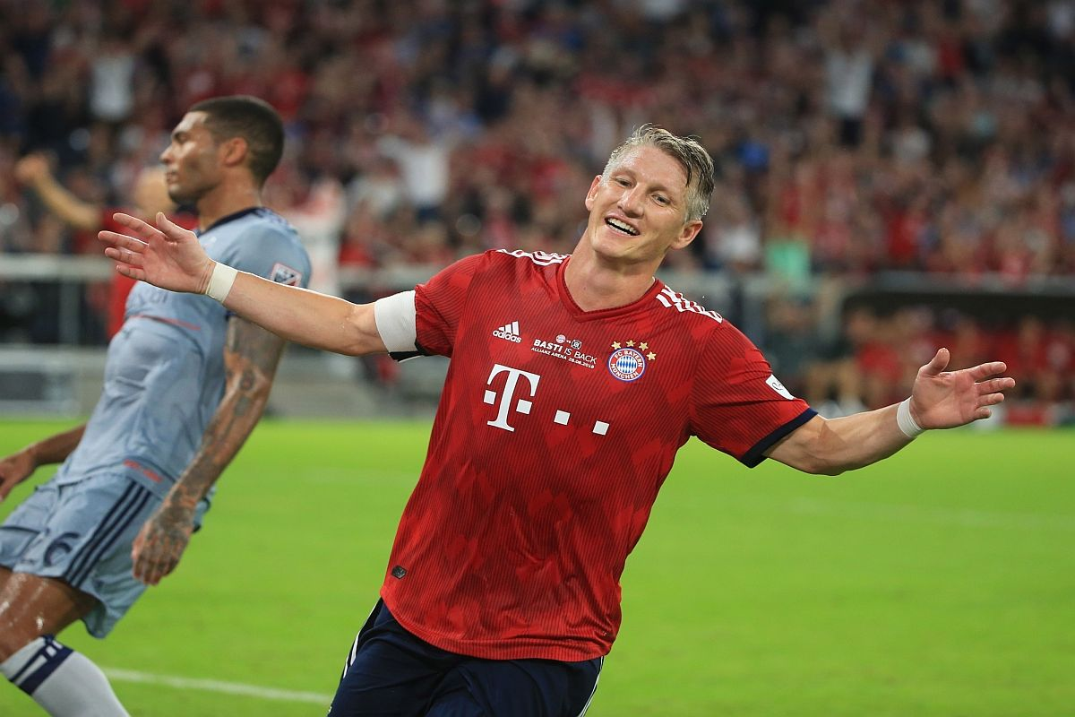Bastian Schweinsteiger, Bayern Munich, Bundesliga, Major League Soccer, Chicago Fire