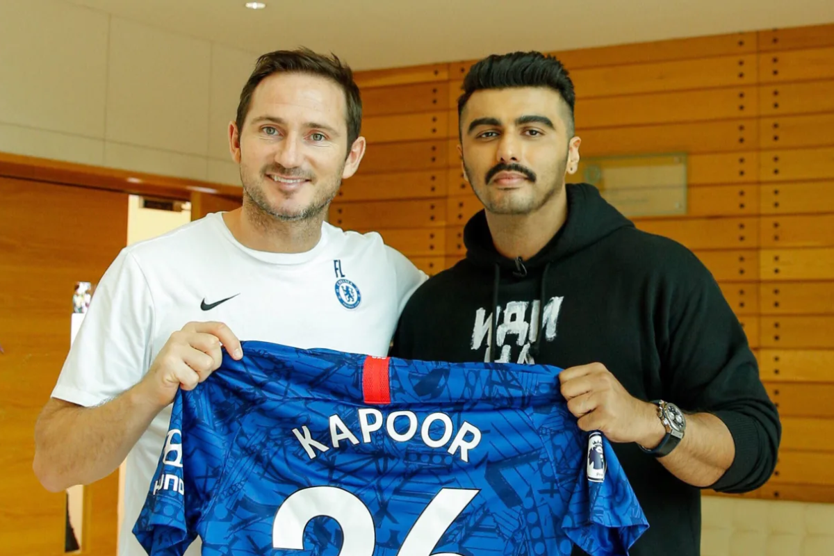 Arjun Kapoor, Chelsea, Out of the Blue,