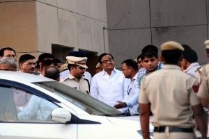 INX Media case: ED arrests Cong leader P Chidambaram after interrogation at Tihar jail