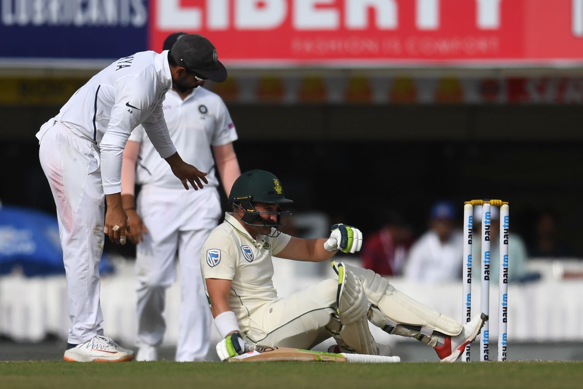 India vs South Africa, Ranchi Test, Dean Elgar, Umesh Yadav,