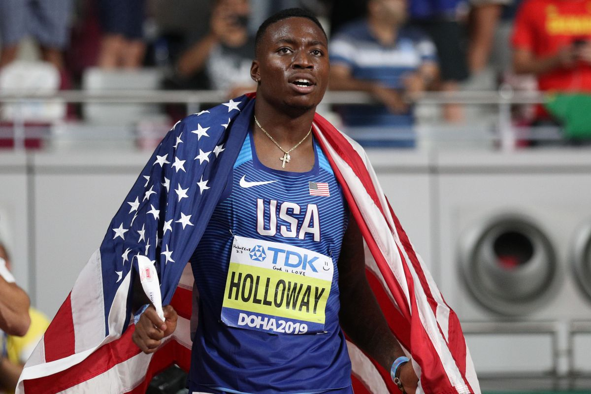 Image result for Grant Holloway