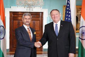 S Jaishankar meets Mike Pompeo to discuss strategic bilateral ties