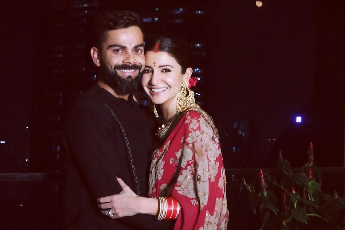 See | Anushka Sharma shares adorable picture with husband Virat Kohli, lists down positives of lockdown