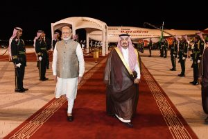 PM Modi in Saudi Arabia to 'strengthen ties with a valued friend'