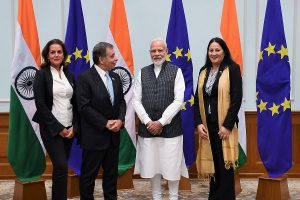 'Chance to see what's happening on ground': EU delegation leaves for Kashmir