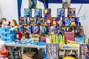 Low customer turnout, untimely rain worry fireworks vendors