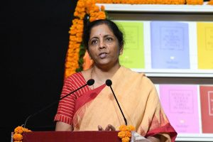 Sitharaman meets PMC Bank clients, says will talk to RBI Governor over customers' distress