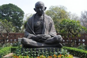 AAP MP demands probe into textbook depicting Mahatma Gandhi in poor light