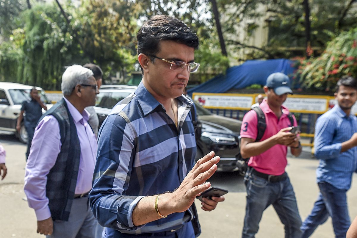 'Never expressed my aspirations' to be BCCI chief: Sourav Ganguly after filing nomination