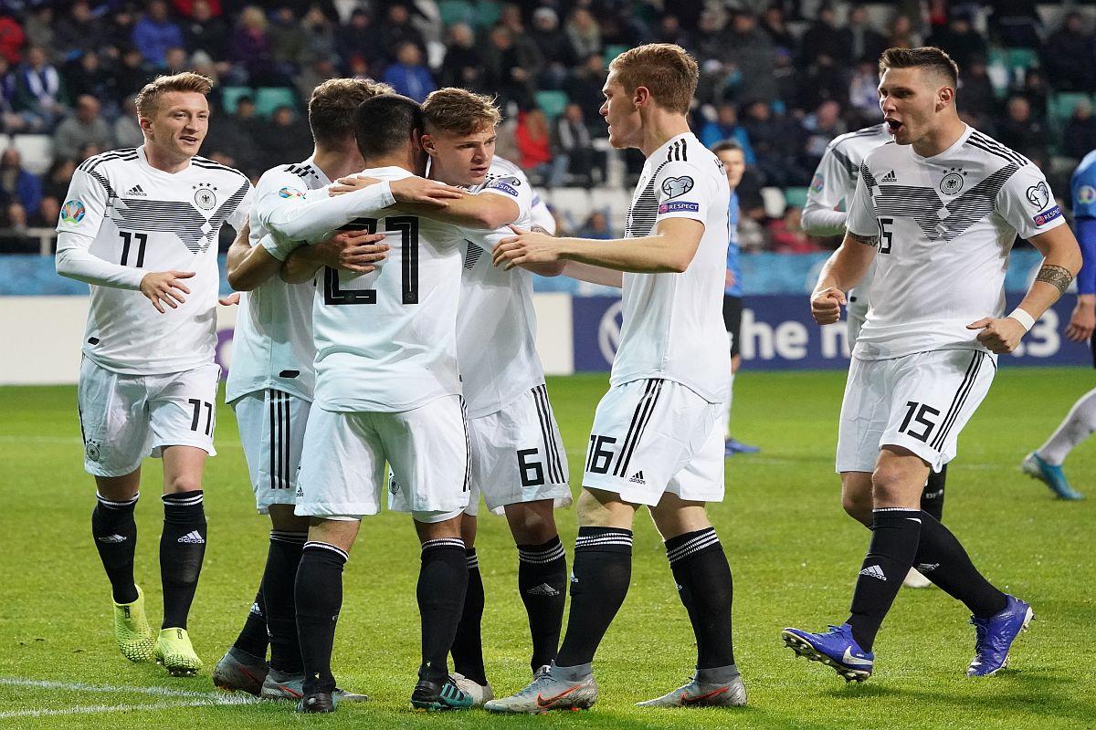 Germany, Estonia, Ilkay Gundogan, Manuel Neuer