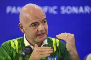 'There is no place for racism in society and soccer': FIFA President Gianni Infantino