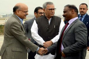 Girish Chandra Murmu takes oath as first Lt Governor of Jammu and Kashmir