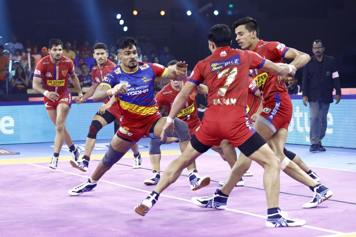 PKL 7, UP Yoddha, Dabang Delhi, Patna Pirates, Gujrat Fortunegiants,