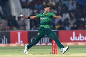 Pakistan's Mohammad Hasnain becomes youngest to take T20I hat-trick