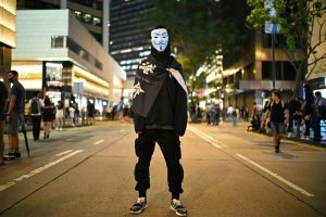 Hong Kong mask ban challenged in court ahead of Halloween rally